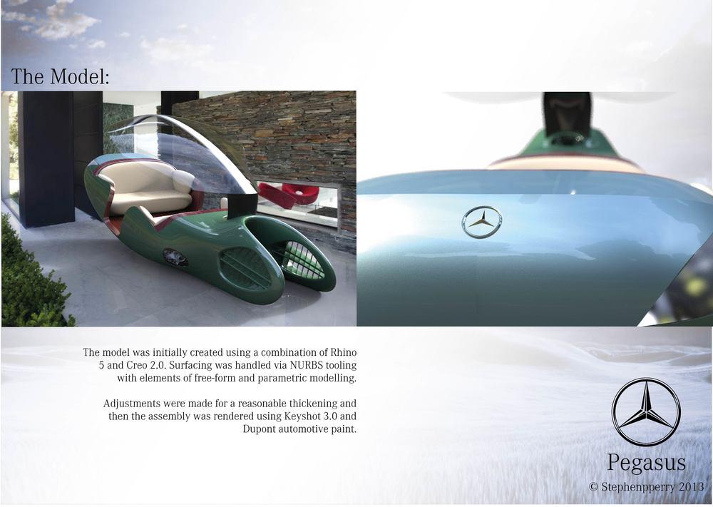 09 pegasus stivenskyrah designwithlove design mercedes closer detailing model keyshot render creo rhino