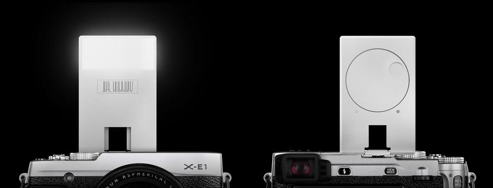 stivenskyrah design VSPYSHKUS compact camera flash on art lebedev desigwithlove